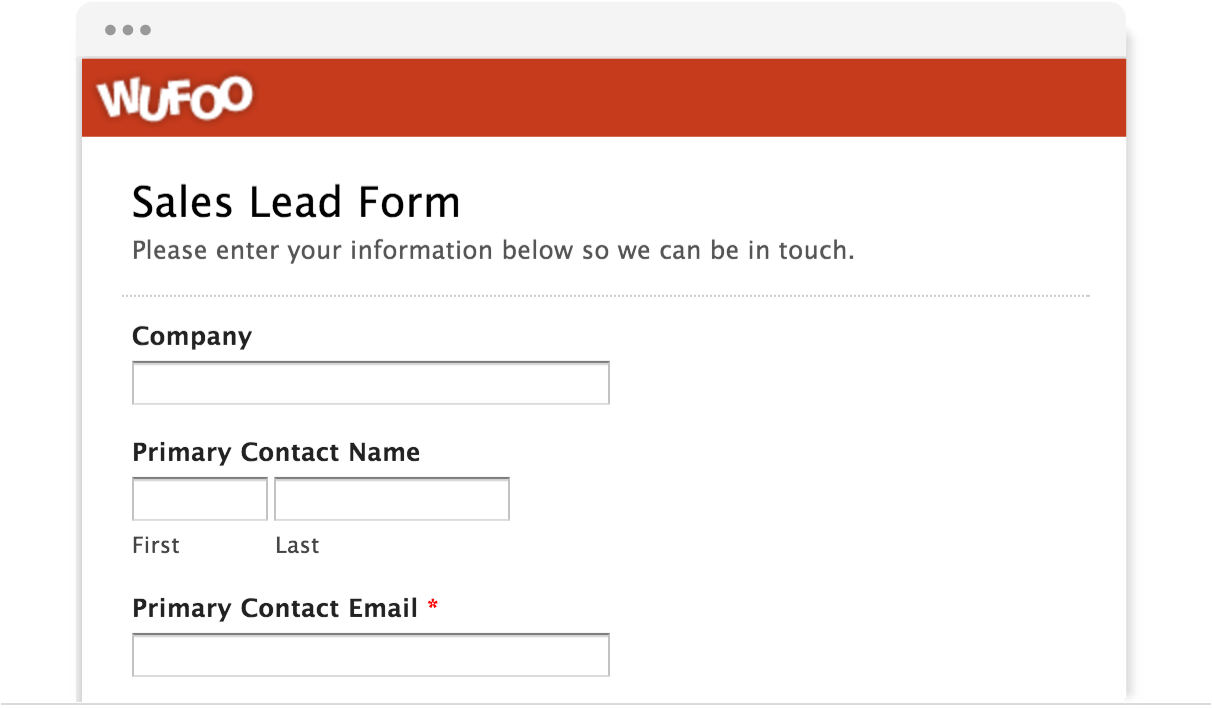 Examples of online forms wufoo popular templates falaconquin