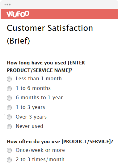 Customer Satisfaction (Brief)