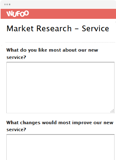 Market Research - Service