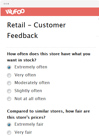 Retail - Customer Feedback