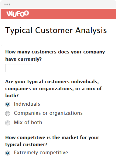Typical Customer Analysis
