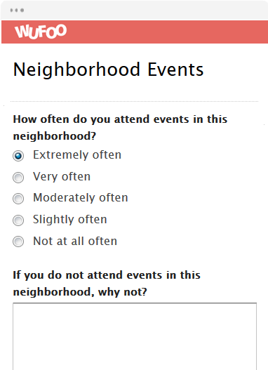 Neighborhood Events
