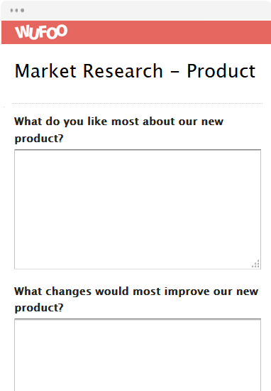 Market Research - Product